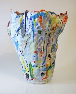 """""""Untitled Porcelain Vase"""" H33 x 27 x 27cm $1,200.00 AU"""