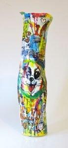 """""""Graffiti Vase"""" H63 x 17 x 17cm $1,550.00 AU"""